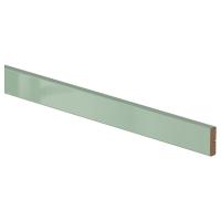 КАЛЛАРП Карниз декоративный закругленный, глянцевый светло-зеленый
