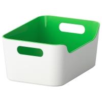 ВАРЬЕРА Контейнер, зеленый