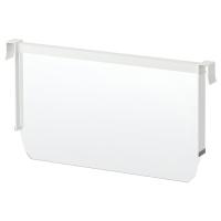 МАКСИМЕРА Разделить д/высокого ящика, белый, прозрачный