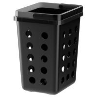 ВАРЬЕРА Вентилируемый контейнер д/мусора, черный