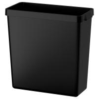 ВАРЬЕРА Контейнер д/сортировки мусора, черный