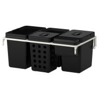 ВАРЬЕРА/УТРУСТА Мусорные контейнеры для шкафа