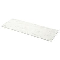 ЭКБАККЕН Столешница, белый под мрамор