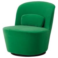 СТОКГОЛЬМ Вращающееся кресло, Сандбакка зеленый