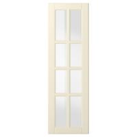 БУДБИН Стеклянная дверь, белый с оттенком