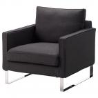 МЕЛБИ Чехол кресла, Дансбу темно-серый
