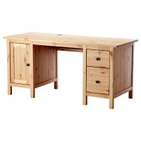 ХЕМНЭС Письменный стол, светло-коричневый