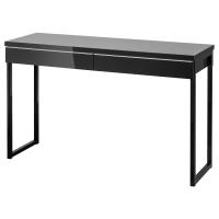 БЕСТО БУРС Письменный стол, глянцевый черный