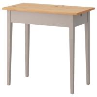 НОРРОСЕН Стол д/ноутбука, серый