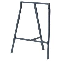 ЛЕРБЕРГ Опора для стола, серый