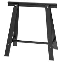 ОДВАЛЬД Опора для стола, черный