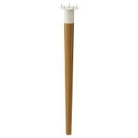 ХИЛВЕР Ножка коническая, бамбук