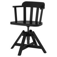ФЕОДОР Вращающееся легкое кресло, черный