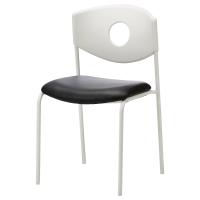 СТОЛЬЯН Конференц-стул, белый, черный