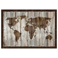 БЬЁРКСТА Картина, карта мира