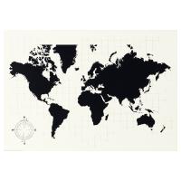 МЁЛЬТОРП Доска для записей, карта мира Карта мира