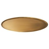 БЕЛЕВАД Тарелка для свечи, желтая медь