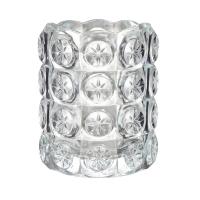 ФЛЕСТ Подсвечник для греющей свечи, прозрачное стекло