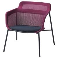 ИКЕА ПС 2017 Кресло, розовый, синий