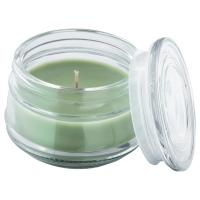 ЛУГГА Ароматическая свеча в стакане, Летний луг зеленый