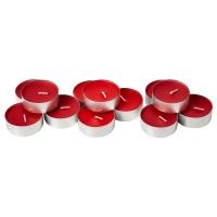 СИНЛИГ Аромат свеча в метал подставке, Сладкие ягоды красный, красный