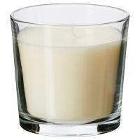 СИНЛИГ Ароматическая свеча в стакане, Ванильное удовольствие естественный, естественный