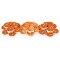 СИНЛИГ Свеча греющая ароматическая, Солнечный мандарин оранжевый, оранжевый