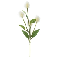 СМИККА Цветок искусственный, Стирлингия, белый