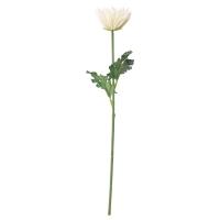 СМИККА Цветок искусственный, Хризантема, белый