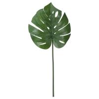 СМИККА Цветок искусственный, монстера, зеленый