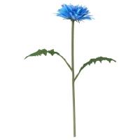 СМИККА Цветок искусственный, Одуванчик, синий