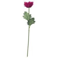 СМИККА Цветок искусственный, Хризантема, сиреневый