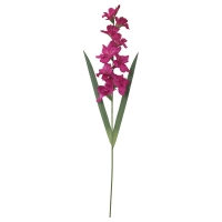 СМИККА Цветок искусственный, Гладиолус, темно-розовый