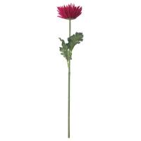 СМИККА Цветок искусственный, Хризантема, красный