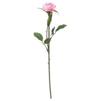 СМИККА Цветок искусственный, Роза, розовый