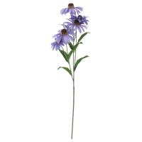 СМИККА Цветок искусственный, Астра, сиреневый