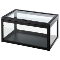 ОКЭНД Контейнер, прозрачное стекло, черный