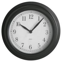 ДЭКАД Настенные часы, черный
