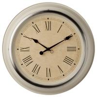 СКОВЕЛЬ Настенные часы, бежевый