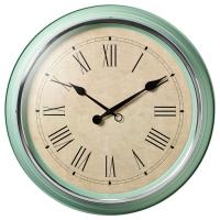 СКОВЕЛЬ Настенные часы, зеленый