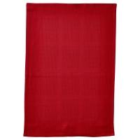 ИРИС Полотенце кухонное, красный