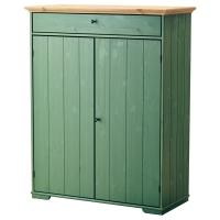 ГУРДАЛЬ Шкаф для белья, зеленый