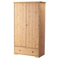 ГУРДАЛЬ Шкаф платяной, светло-коричневый