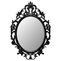 УНГ ДРИЛЬ Зеркало, овал, черный