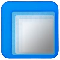 ХИЛЬКЕ Зеркало, ярко-синий