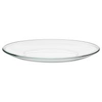 ОППЕН Тарелка, прозрачное стекло
