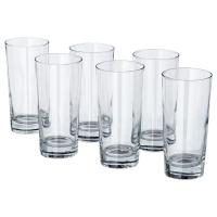 ГУДИС Стакан, прозрачное стекло