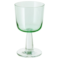 ИНТАГАНДЕ Бокал для вина, светло-зеленый