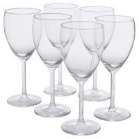 СВАЛЬК Бокал для белого вина, прозрачное стекло