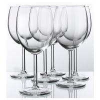 СВАЛЬК Бокал для красного вина, прозрачное стекло